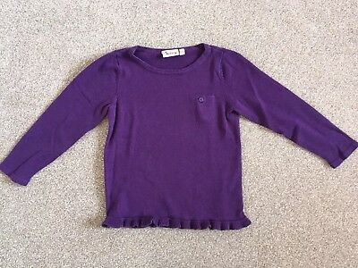 Purple Baby Girl Shirt Top Size 18-24 Months