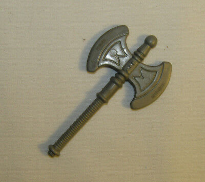 Vintage MOTU Masters of the Universe He-Man Original Battle Axe Taiwan Mattel
