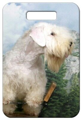 Set of 2 Sealyham Terrier Luggage Tags