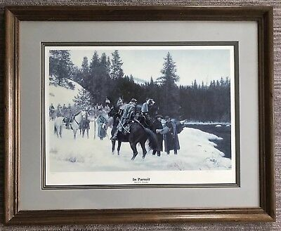 Don Stivers - In Pursuit - Limited Edition Framed Civil War Print