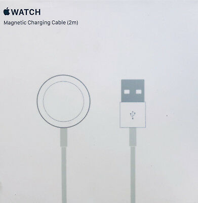 Genuine Apple Watch iWatch Magnetic USB Wireless Charger Charging Cable 2M