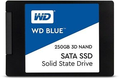 SSD 250GB WD Blue 3D Nand PC HDD Internal Solid State Drive SATAIII WDS250G2B0A