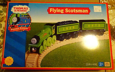 Thomas And Friends Wooden Railway Flying Scotsman 2001 Rare Nib