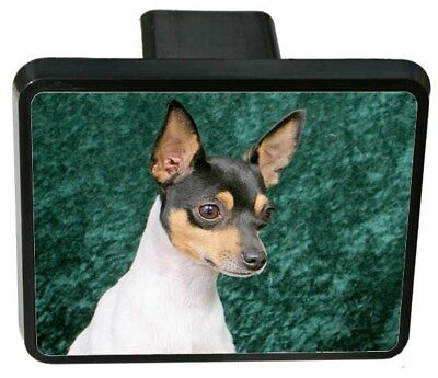 Toy Fox Terrier Trailer Hitch Cover