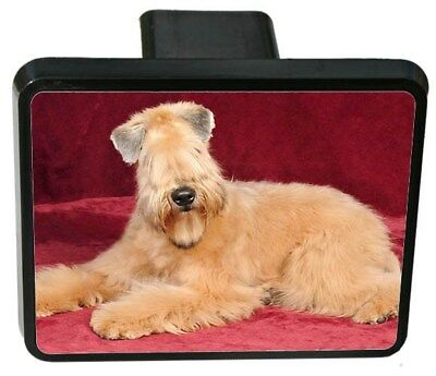 Soft Coated Wheaten Trailer Hitch Cover