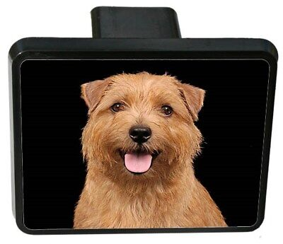 Norfolk Terrier Trailer Hitch Cover
