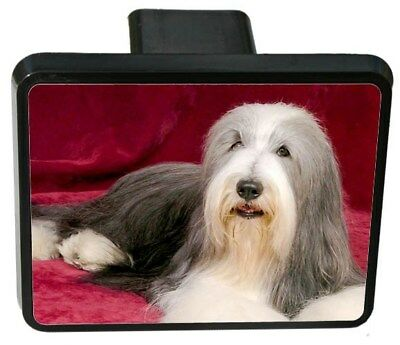 Bearded Collie Trailer Hitch Cover