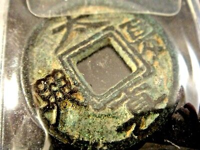 Ancient Chinese dynasty coin 1 cash Antique bronze coin China rare world coin