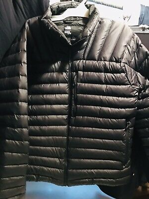 The North Face Pre Owned Mens XL Tall Black Puffy Quilted 800 Jacket