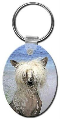 Chinese Crested Key Chain