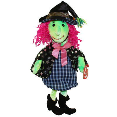 TY Beanie Baby - SCARY the Witch (7 inch) - MWMTs Stuffed Animal Toy