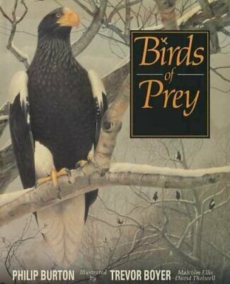 Birds of Prey by Burton, Philip John Kennedy Book The Cheap Fast Free Post