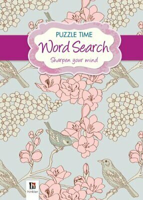 Word Search (purple) Puzzle Time Series 1 Book The Cheap Fast Free Post
