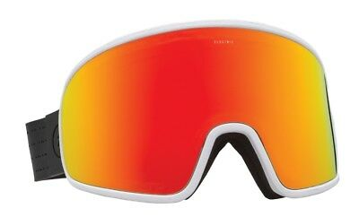 5f0d00ed8bd NEW Electric Electrolite Matte White Red Mens ski snowboard goggles Msrp 140