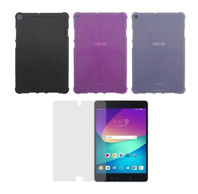 Protective TPU Case + Screen Protector for ASUS ZenPad Z8s (ZT582KL)Tablet 2017