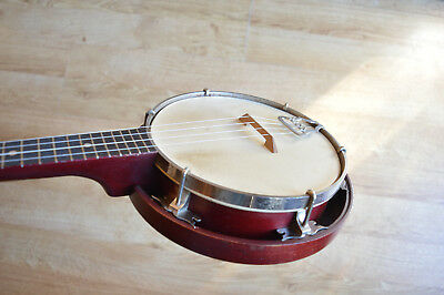 Vintage Banjo Ukulele, or Banjolele, new strings, original and in good order.