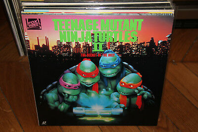 TEENAGE MUTANT NINJA TURTLES II 2 Secret Of The Ooze LASERDISC LD NTSC JAPAN