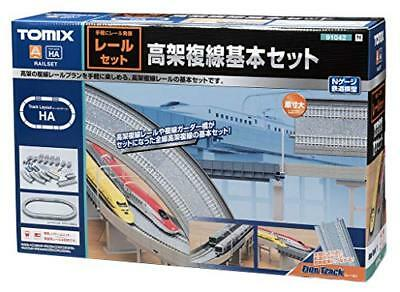 TOMIX N Scale Elevated Double Track Basic Set Rail Pattern HA 91042 T From japan