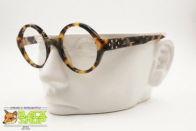 Vintage 90s glasses frame LES COPAINS LC 23, Hand made in Italy tortoise acetate