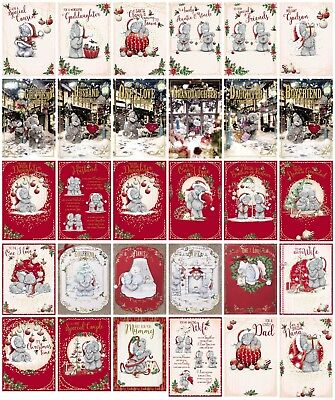 Me To You Tatty Teddy Christmas Cards - Various Designs & Sizes