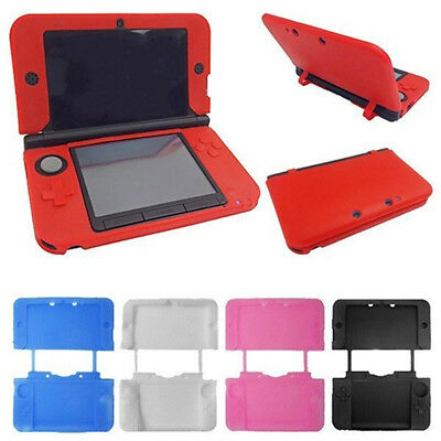 Nintendo 3DS XL Console Silicone Rubber Gel Protective Skin Soft Case Cover