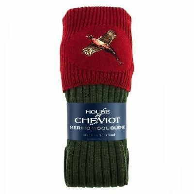 House of Cheviot Boys Lomond with Pheasant - Spruce/Red