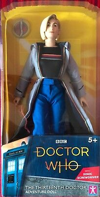 Doctor Who ~ The Thirteenth 13th Doctor ~ 26 cm Collectable Figure 10 Inch New