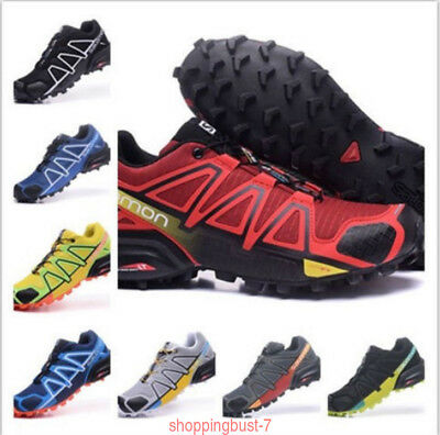 Uomo Salomon Speedcross 4 Sneakers Outdoor Running escursione Scarpe sportive