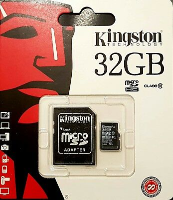 Kingston 32G MicroSD SDHC Samsung Memory Card Micro sd TF Smart Phone Class -10