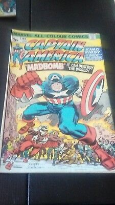 Marvel Captain America #193 Original Marvel Comic 1976 Jack Kirby