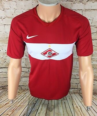 Spartak Moscow Home Football Shirt Jersey Nike Sz Medium / M Mens