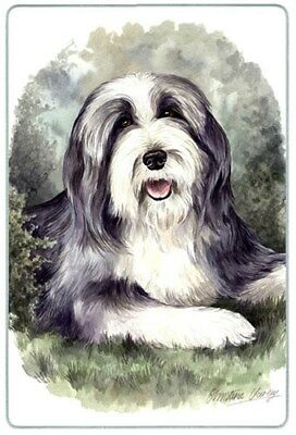 Bearded Collie Cutting Board, Small