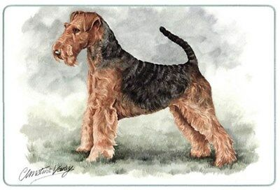 Airedale Terrier Cutting Board, Small