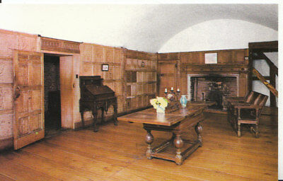 Worcestershire Postcard - Withdrawing Room - Harvington Hall - Worcester - 4489A