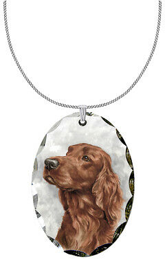 Irish Setter Pendant / Necklace