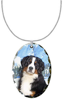 Bernese Mountain Dog Pendant / Necklace