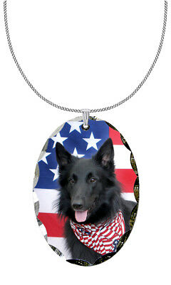 Belgian Sheepdog Pendant / Necklace