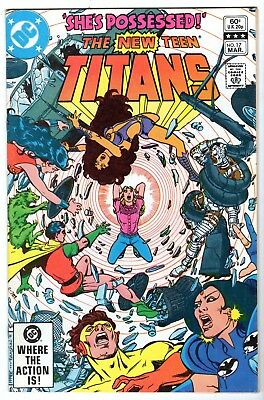 New Teen Titans #17, Near Mint Minus Condition