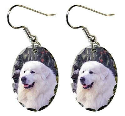 Great Pyrenees Earrings
