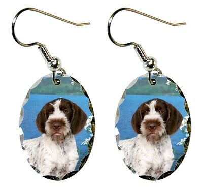 German Wirehair Pointer Earrings
