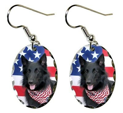 Belgian Sheepdog Earrings