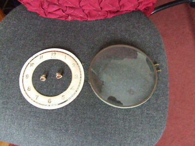 """6.25"""" Hinged Clock Bezel Glass And Dial"""