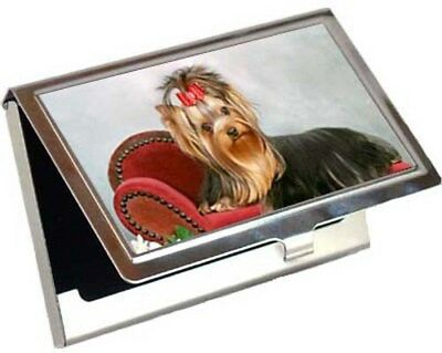 Yorkshire Terrier Business Card / Credit Card Case