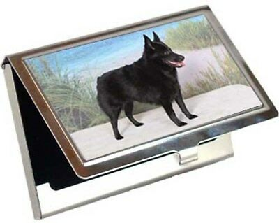 Schipperke Business Card / Credit Card Case