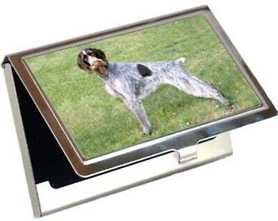 German Wirehair Pointer Business Card / Credit Card Case