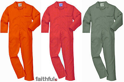 Flame Fire Retardant Resistant Boilersuit Coverall Overall Faithful Welding