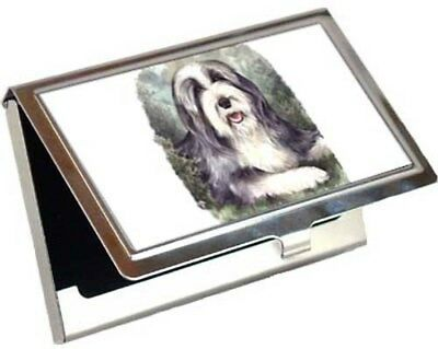 Bearded Collie Business Card / Credit Card Case