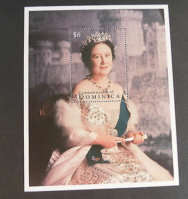 Dominica 1995 Queen Mother 95th Birthday MS MNH UM unmounted mint