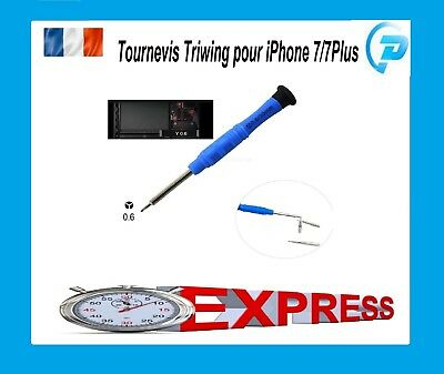Tournevis Y 0.6 mm TRIWING IPHONE pour APPLE IPHONE 7 / 7 PLUS / WATCH -Tri-wing