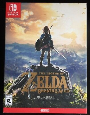 Legend of Zelda: Breath of the Wild Special Edition Nintendo Switch 2017 New